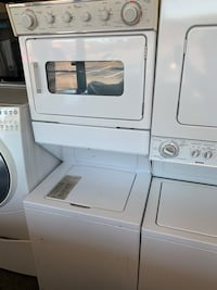 """27""""Whirlpool stack unit electric working good with warranty  Woodbridge, 22192"""