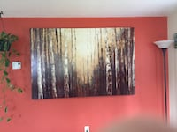 black and white abstract painting Prineville, 97754