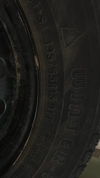 """Snow tires Winter force M &S  [TL_HIDDEN] T — auto wheel with tire includes rims 16"""" Toronto, M1W"""