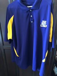 LSU polo shirt 26 mi