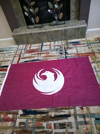 red and white area rug Phoenix, 85043