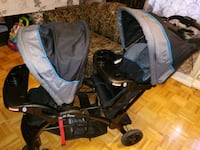 Sit and tand double stroller Toronto, M1E 3E3