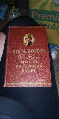 Old Mr Boston's deluxe bartenders guide 1941 edition