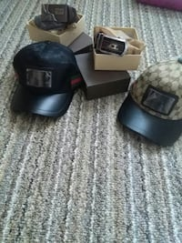 Name brand hats and belts new Greenville, 42345