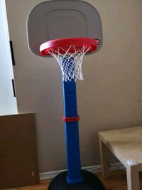 blue and white basketball hoop Toronto, M3A 2X5