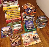 Huge lot of jigsaw puzzles Toronto, M9M 0A4