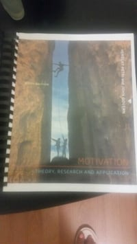 Motivation Textbook Canadian edition  Mississauga, L5H