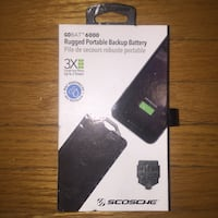 Schosche GoBat 6000 portable battery charger for smartphones TORONTO