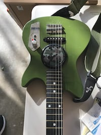 Child's Green and black electric guitar with Amp Virginia Beach, 23455