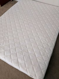 quilted white mattress with box spring Mission Viejo