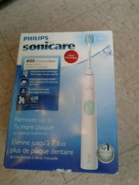white Philips sonicare electric toothbrush box Vancouver, V6A 1P4