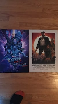 Gotg 2 and Logan imax posters limited edition  Richmond Hill, L4C 5L7