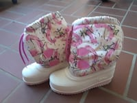white-and-pink boots