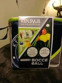 new bocce ball set from target