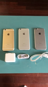 iPhone 6 16gb unlocked - gold, white or black for sale  Toronto, M3M 2E9
