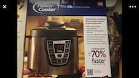 gray and black Power Cooker pressure cooker box Dumfries, 22026