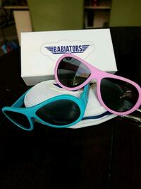 white and pink framed sunglasses for kids Fairfield, 94534