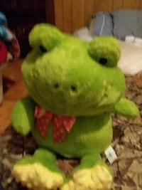 green and yellow frog plush toy Martinsburg, 25404
