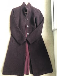 Women's purple long coat Richmond, V6Y 1X4