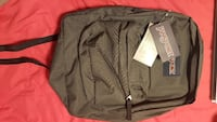 gray Jansport backpack