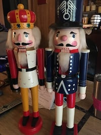20 inch hand painted wooden nutcrackers Baltimore, 21224