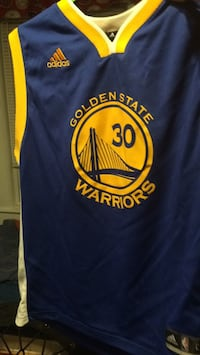Never worn large Stephen Curry jersey  Lowell, 01851