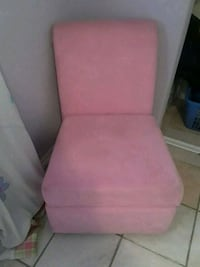 pink fabric padded sofa chair Tulare, 93274