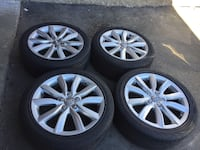 OEM 4 tires and rims all season size  [PHONE NUMBER HIDDEN]  jx17H2ET56.     bolt pattern 5x112 Brampton, L6R 3M6