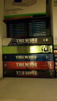 THE WIRE  COMPLETE DVD BOOK SET Toronto, M3H 3S1