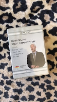 Brian Tracy Sales  Training DVD 4 Pack Brea, 92821