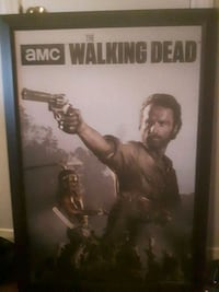 The Walking Dead Canvas Picture And Frame Port Colborne, L3K 1L6