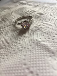 Size 8 925 CZ ring