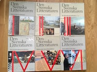 Den svenska litteraturen band 1-6 Estocolmo, 113 46
