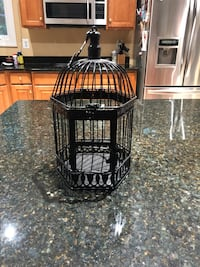 Black Metal Bird Cage Springfield, 22150