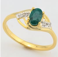 Emerald and diamond ring Spring Hill, 34608