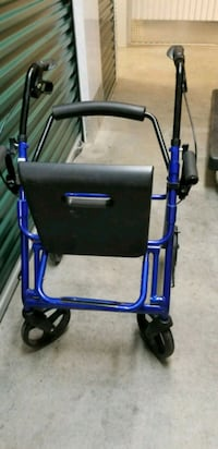 blue and black rollator walker Washington, 20009