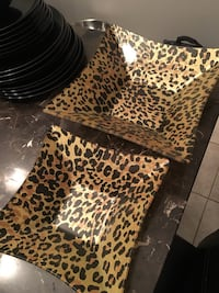brown and black leopard print ottoman Innisfil, L9S 2B8