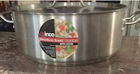 20qt Stainless Steel Cooking Pot with cover San Diego, 92145