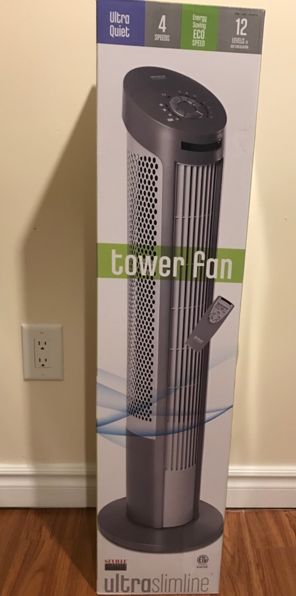 BNIB tower fan