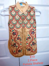$10 Girls Pakistani/Indian 2 piece dress  London, N6G 0G4