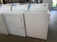 Kenmore top load washer and electric dryer working perfectly