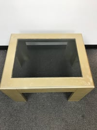 Gold Rectangle Coffee Table