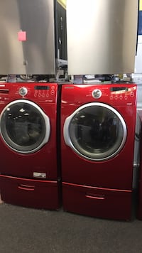 Samsung set Washer And Dryer With Pedestal excellent condition  Windsor Mill, 21133