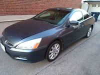 2007 HONDA ACCORD COUPE EX-L 3.0L V6 - POWER HEATED LEATHER SEATS, COLD A/C. POWER SUNROOF, PREMIUM AUDIO, ALLOY WHEEL AND MUCH MORE. THIS PREMIUM SEDAN IS IN EXCELLENT SHAPE INSIDE AND OUT, A MUST SEE!!!  MANY FEATURES: - power windows - power sunroof -