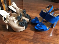 SIZE 7 1/2 cute going out heels , mint condition comfortable fit ! Caledon