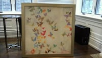 Homesense butterfly picture with gold brushed fram Toronto