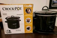 black Crock-Pot slow cooker box Baltimore, 21211