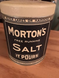 Morton's Salt Collectible Tin Gainesville, 20155