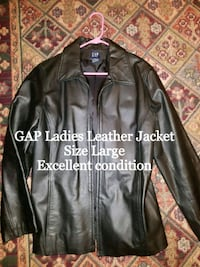 GAP Ladies Leather Jacket Size Large Fayetteville, 28306