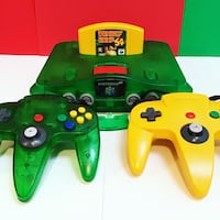 Jungle Green Nintendo 64